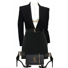 Women fashion Classic Office Wear - Black Women fashion 2019 - Women fashion Office Chic - Women fashion Videos Boho Clothes - - Women fashion For Work Young Komplette Outfits, Dressy Outfits, Night Outfits, Polyvore Outfits, Stylish Outfits, Fashion Outfits, Party Outfits, Polyvore Casual, Outfit Night