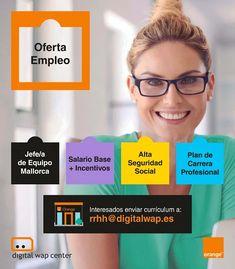 Oferta de #Empleo: Se busca JEFE/A EQUIPO COMERCIAL 💼 👩💼 👨💼 con experiencia en telefonía móvil para #Baleares. Si te gustan los nuevos retos, no te lo pienses, ¡Únete a nuestro gran equipo! Menorca, Job Search, Digital, Ibiza, Teamwork, Fotografia, Ibiza Town