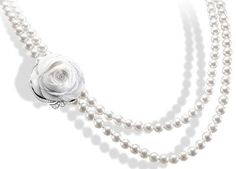 pearl rose necklace!