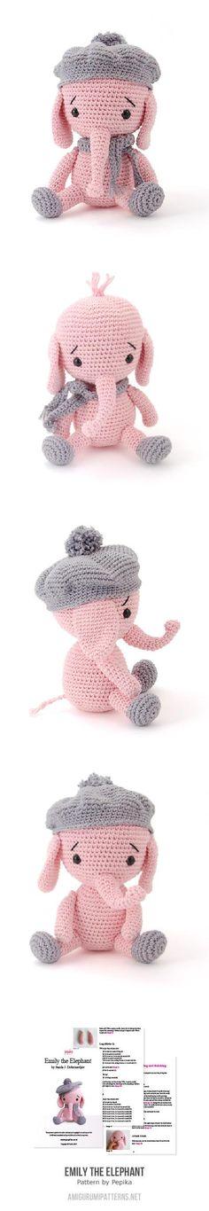 Emily The Elephant Amigurumi Pattern
