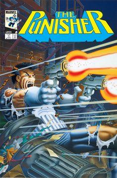 #FrankCastle #ThePunisher #MarvelComics #Marvel #ñoñeria #nerd #freak #comiquero #comic #historieta #portada #cover #comiquero