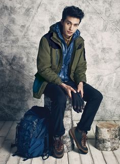 AIGLE F/W 2014 Ad Campaign Feat. Lee Dong Wook & Go Ara | Couch Kimchi