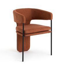 Desk Chair, Sofa Chair, Armchair, Palazzo, Terracota, Table Design, Chair Design, Sofa Furniture, Furniture Design