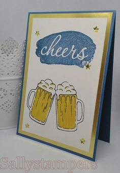 Reverse Words meets Mixed Drinks. Independent Stampin' Up!® Demonstrator UK.