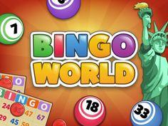 Descubra o novo jogo #OnlineBingo ie Bingo Mundial e ganhar recompensas, tesouros e colecionáveis usando power-ups especiais.