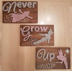 Nursery String Art Peter Pan
