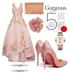 Designer Clothes, Shoes & Bags for Women Fashion Sets, Charlotte Tilbury, Polyvore Outfits, Dress Ideas, Christian Louboutin, Collections, Gowns, Dinner, My Style