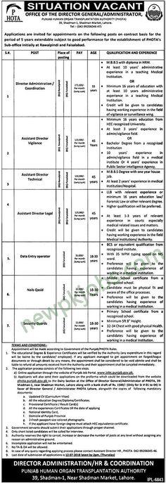 Office of Senior Civil Judge Admin Nankana Sahib Jobs 2018 Latest