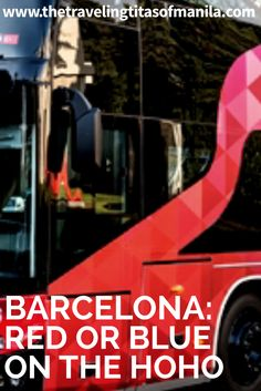 When shorty on time but you still want to see much of Barcelona on your own, the Hop-On/Hop-Off Bus (or HoHo) is definitely one way to go.