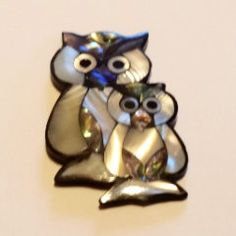Two Owls Pendant