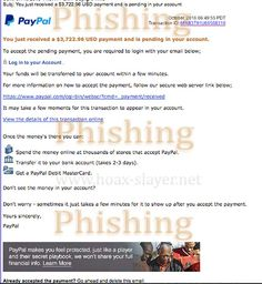 """PayPal """"You Just Received a $3,722.96 USD Payment"""" Phishing Scam"""