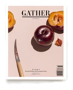 Gather, a beautiful new food/life journal.