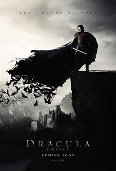 Dracula Untold Official Poster, 2014.