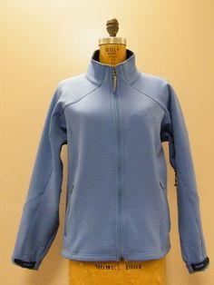 *NICE* Powder Blue MARMOT Under Arm Zip Hiker Zip Sports Jacket Sz Large *MINT* #Marmot #BasicJacket