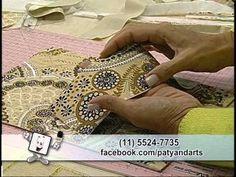 Carteira de tecidos rebordada - CrisMazzer e Patricia Washington - YouTube