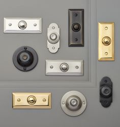 Putman Doorbell Button Solid Brass C4045