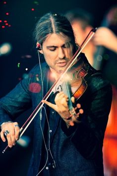 1. Learn how to play the Violin... like David Garrett