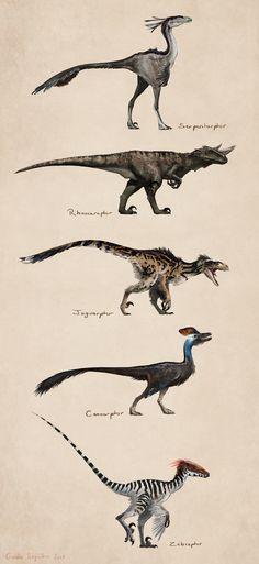 ArtStation - Savanna raptors, Gaelle Seguillon