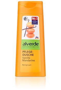 Alverde Douchegel Vanille Mandarijn   Heerlijk fris... Nu nog in Nederland bij de drogist, want de fles is bijna  leeg...