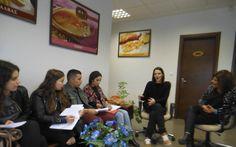 Επίσκεψη του 5ου ΓΕΛ Βέροιας σε εταιρεία τροφίμων στο πλαίσιο του ευρωπαϊκού προγράμματος ERASMUS