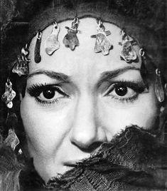 Maria Callas in Medea, 1969