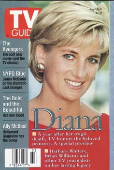princess diana tv guide cover - Google Search