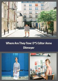 Im so excited that were getting an update from Anne Ditmeyer today! Anne has become such a star and we are all so envious of her beautiful and creative People's Friend, Creative Workshop, Wish You The Best, Paris City, City Guides, The Expanse, Trip Planning, Editor, The Good Place