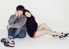 Song Jae Rim and IU - Sbenu 2014