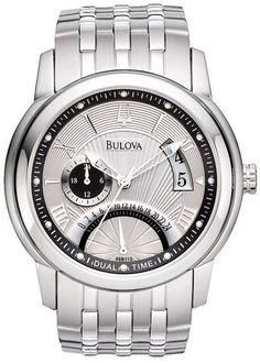 Orologio uomo Bulova Classic Dual Time 96B110 GioielliVarlotta