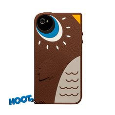 iPhone 4/4S Case Hoot Owl Brown by  Case-Mate