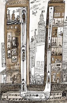 Little Boy Brown: The Loveliest Ode to Childhood and Loneliness Ever Written, Illustrated by Legendary Graphic Designer André François | Bra...