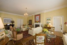 Living room - Prime Minister's House, 24 Sussex Drive