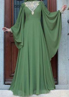 FatimaBi Plus size Clothing Bridal Islamic Kaftan Muslim Mehandi Caftan Dress #FatimaBi #Kaftan
