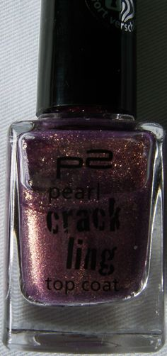 p2 cosmetics Crackling Pearl Top Coat Violett Fusion    http://www.beautytester.de/testbericht/p2-cosmetics-crackling-pearl-top-coat-violett-fusion_4032/