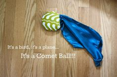 Comet Balls craft.  Don't know that I want to bring a sewing machine to practicum but these do look like fun.