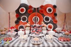 dessert table by Sweet Indulgence wedding by Couture Parties