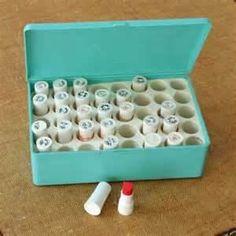 little Avon lipstick samples