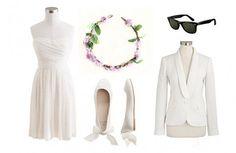 Keira Knightly Wedding Look |  White