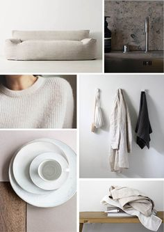Neutrals Scandinavian Interior Design, Shop Interior Design, Neutral Colour Palette, Colour Palettes, Color Inspiration, Moodboard Inspiration, White Aesthetic, Decorating Blogs, Decoration