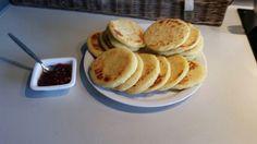 Griesmeelbroodjes/pannekoekjes