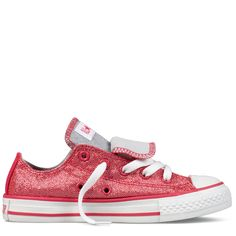 Converse - Chuck Taylor Sparkle yr) - Low - Raspberry- Oh Makenna would  love these 92f8268be