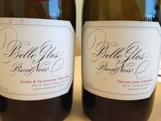 Belle Glos: ClarK & Telephone and Taylor vineyards