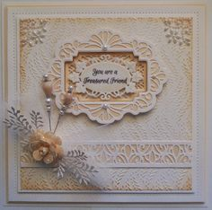 Inky Finger Zone: Sneak Peek - Today and Always using creative expressions dies Hand Made Greeting Cards, Making Greeting Cards, Homemade Wedding Cards, Handmade Birthday Cards, Handmade Cards, Spellbinders Cards, Candy Cards, Friendship Cards, Some Cards