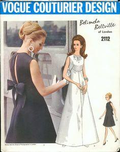 Vogue Couturier Design- Year 1960's