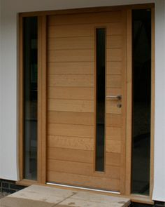 images for modern wood front doors - Google Search