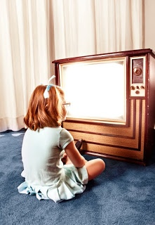 I remember getting told over and over to sit back because we were too close to the tv.