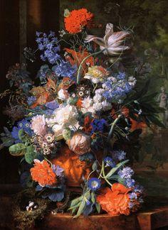 картины художника Jan Van Huysum-09