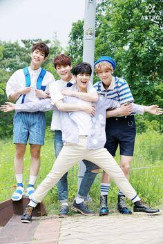 [17.07.16] Behind the scenes of the 2nd mini album - MyungJun, MoonBin, EunWoo e SanHa