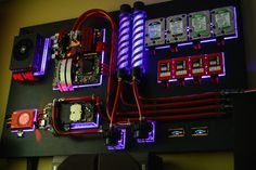 wall mounted pc case