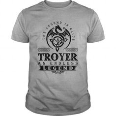 Awesome Tee  TROYER AN ENDLESS LEGEND T-SHIRT T shirts
